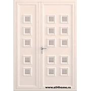 ALU vrata <br> S21 Kijev sa staklima
