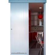 OP klizna sobna vrata, bela