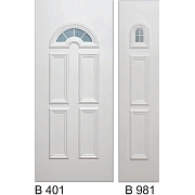 PVC ulazna vrata<br> paneli B401 i B981