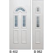 PVC ulazna vrata<br> paneli B402 i B982