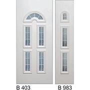 PVC ulazna vrata<br> paneli B403 i B983