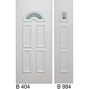 PVC ulazna vrata<br> paneli B404 i B984