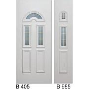 PVC ulazna vrata<br> paneli B405 i B985