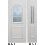 PVC ulazna vrata<br> paneli B471 i B871