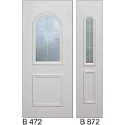 PVC ulazna vrata<br> paneli B472 i B872