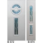 PVC ulazna vrata<br> paneli B572 i B874