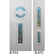 PVC ulazna vrata<br> paneli B574 i B873