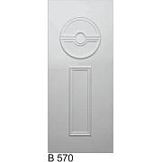PVC ulazna vrata<br> panel B570