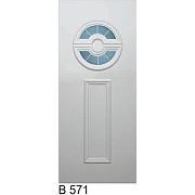 PVC ulazna vrata<br> panel B571