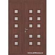 ALU vrata <br> S21 Kijev (S crna trešnja)