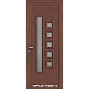 ALU vrata <br> S36 Nju Jork (S crna trešnja)