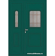 ALU vrata <br> S11 Malme (RAL 6005)