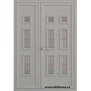 ALU vrata <br> S22 Keln (RAL 9007)