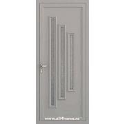 ALU vrata <br> S39 Dalas (RAL 9007)