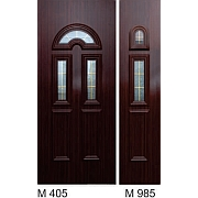 PVC ulazna vrata<br> paneli M405 i M985