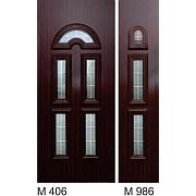 PVC ulazna vrata<br> paneli M406 i M986