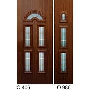 PVC ulazna vrata<br> paneli O406 i O986