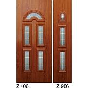 PVC ulazna vrata<br> paneli Z406 i Z986