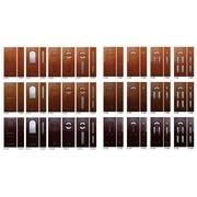 Pregled panela za<br> PVC ulazna vrata u boji