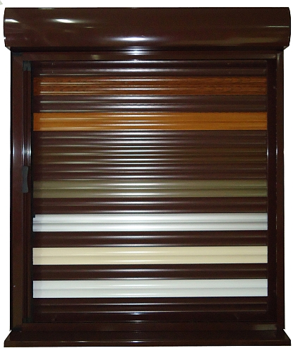 alu roletna u boji u spolja njoj kutiji stolarija komarnici roletne k. Black Bedroom Furniture Sets. Home Design Ideas