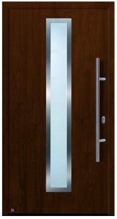 Hörmann ulazna vrata<br>ThermoPlus700A tamni hrast